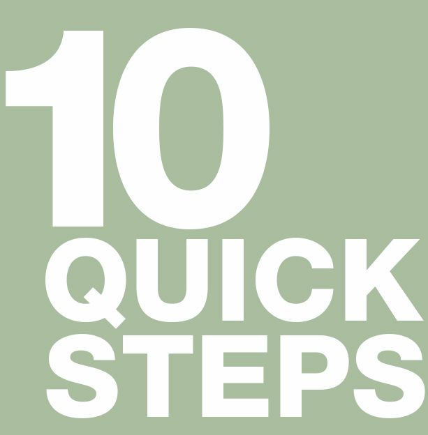 10 Quick Steps to Creating Your Brand